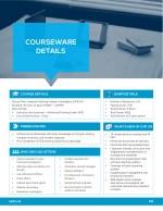 courseware details