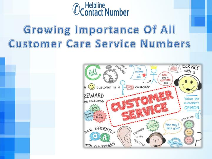 growing importance of all customer care service n.