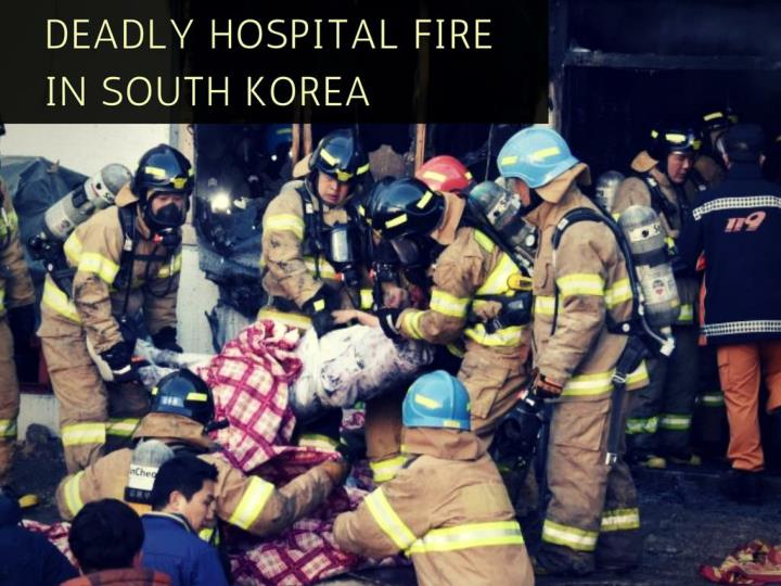 deadly hospital fire in south korea n.