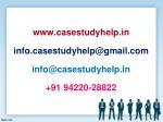 www casestudyhelp in info casestudyhelp@gmail
