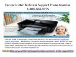 canon printer technical support phone number 1 888 664 3555
