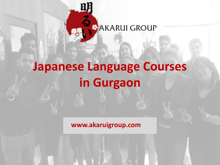 japanese language courses in gurgaon n.