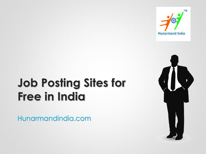 job posting sites for free in india n.
