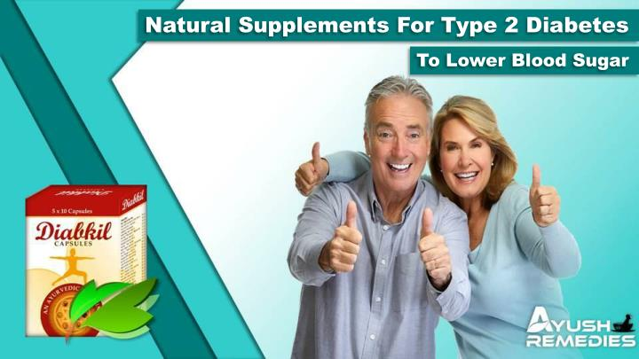 natural supplements for type 2 diabetes n.