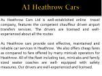a1 heathrow cars 1