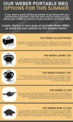 our weber portable bbq options for this summer