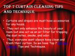 top 7 curtain cleaning tips and technique