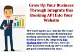 grow up your business through integrate