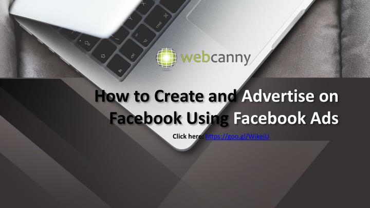 how to create and advertise on facebook using facebook ads n.