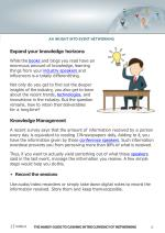 an insight into event networking expand your