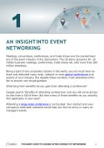 an insight into event networking