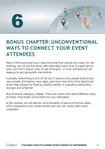 bonus chapter unconventional ways to connect your event attendees