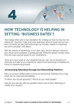 how technology is helping in setting business dates