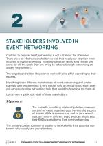 stakeholders involved in event networking