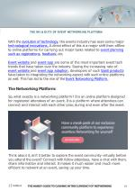 the ins outs of event networking platform with