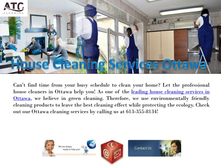 house cleaning services ottawa n.