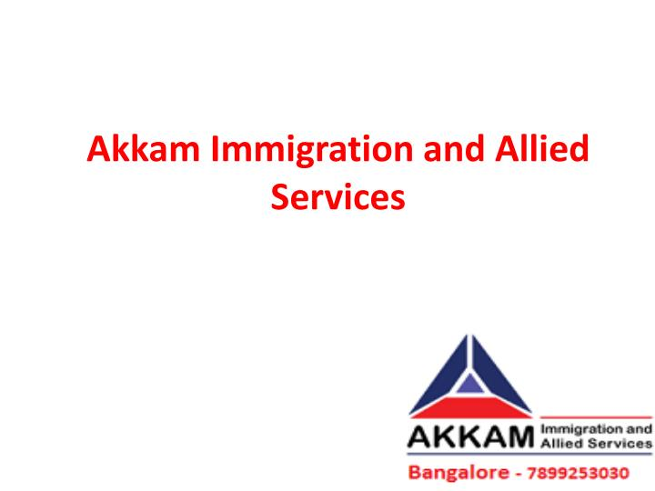 akkam immigration and allied services n.