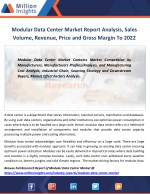 modular data center market report analysis sales
