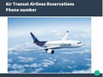 air transat airlines reservations phone number
