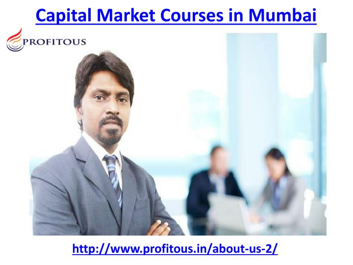 capital market courses in mumbai n.