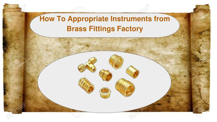 how to appropriate instruments from brass n.