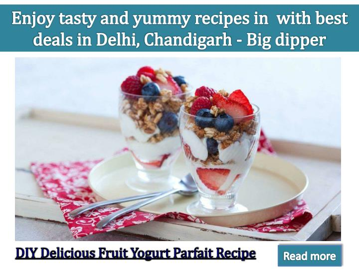 enjoy tasty and yummy recipes in with best deals n.
