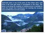 kedarnath yatra is one of the parts of char dham