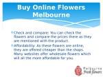 buy online flowers melbourne