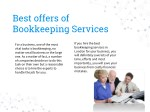 best offers of bookkeeping services