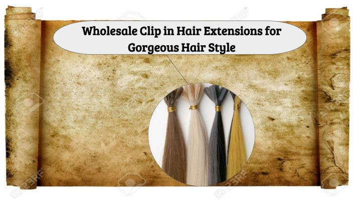 wholesale clip in hair extensions for gorgeous n.