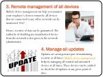 3 remote management of all devices