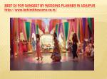 best dj for sangeet by wedding planner in udaipur http www behindthescene co in 2