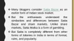 many bloggers consider satta bazar as an earlier