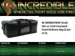 ib smsbhcmw small hot or cold insulated food