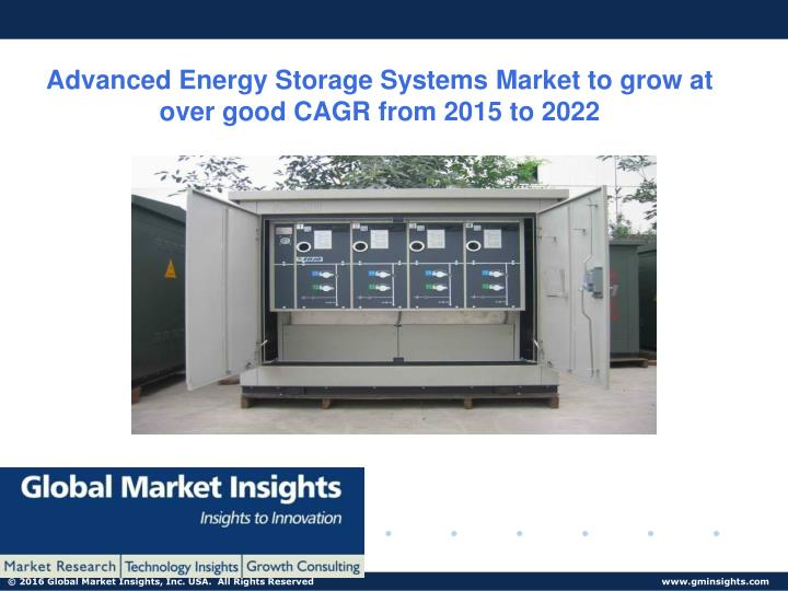 advanced energy storage systems market to grow n.