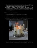 candles create ambiance and are the most