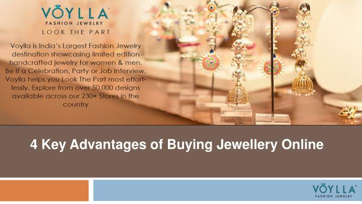 4 key advantages of buying jewellery online n.