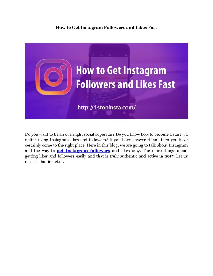 how to get instagram followers and likes fast n.