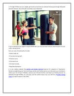 4 through fitpass lose your weight get toned
