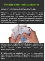 financeme kulutusluotot
