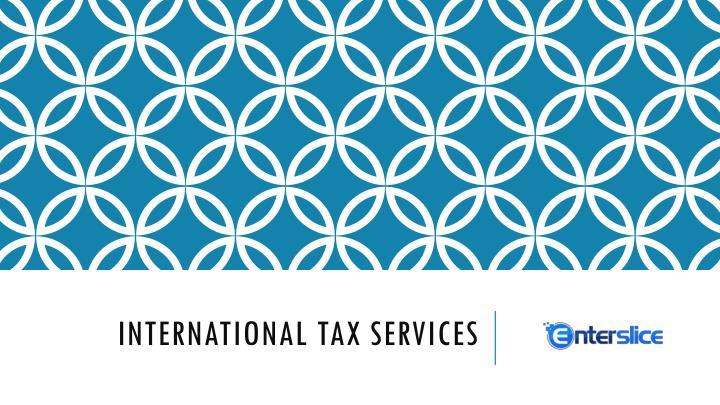 international tax services n.