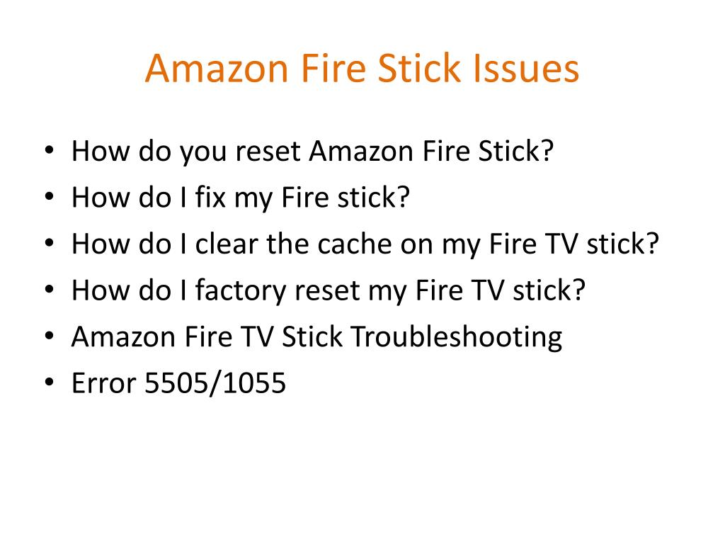 PPT - Amazon Fire Stick Customer Service PowerPoint
