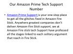 our amazon prime tech support number
