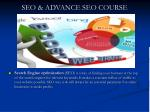 seo advance seo course