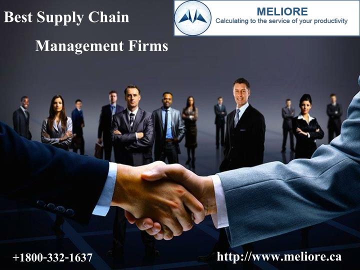best supply chain m anagement f irms n.