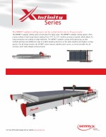 the infinity waterjet cutting series