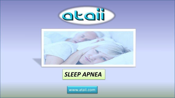 sleep apnea n.