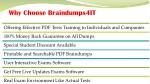 why choose braindumps4it