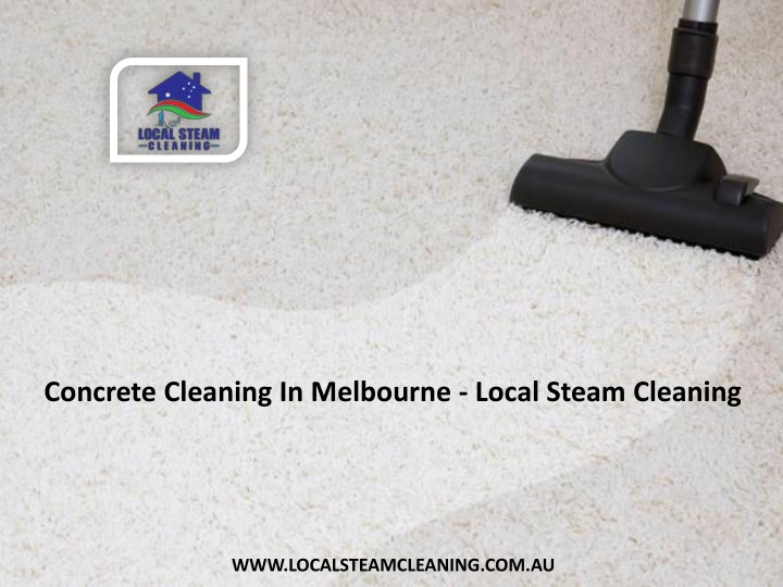 concrete cleaning in melbourne local steam n.