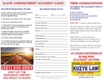 glove compartment accident guide